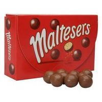 Light and bubbly Maltesers