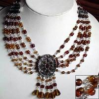 Staggering Style : Beaded Necklace