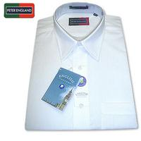 Fabulous White Peter England : Collared Shirts