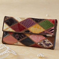 Stylish Temanli Leather Clutch