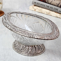 An Awesome Collection : White Metal Bowl